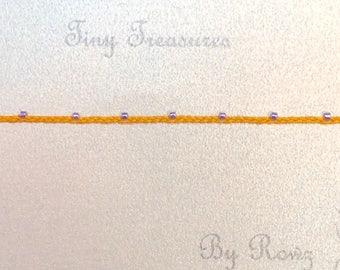 Minimalist's Delight bracelets