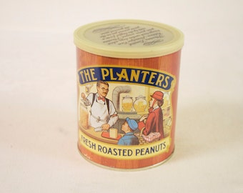 Vintage 1982 The Planters Peanut Tin Box Limited edition Advertisement tin box