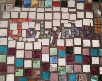Custom Mosaic Nameplate