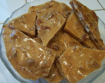 To  Die  For -Southern Pecan Brittle-Better  than  Pie- 1/2 pound.