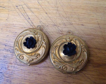 Vintage Flower Locket (2)