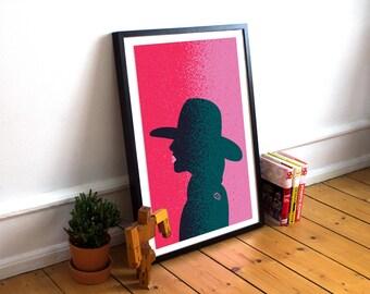"Original Poster Design Print Inspired by Lady Gaga - ""Joanne"""