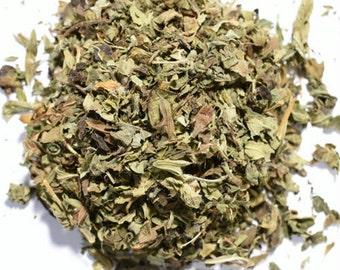LEMON BALM | Organic Herbal Tea | Loose Leaf and Tea Bags | Tea Tins | Eco-Friendly Packaging