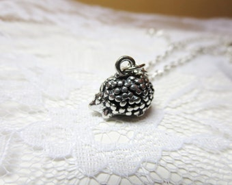 Hedgehog  Necklace- silver hedgehog jewelry -bronze hedgehog- hedgehog ring