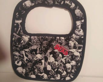 The Walking Dead Baby Bib