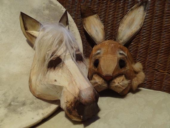 Diy Halloween Masks Horse Mask Rabbit Mask Instant