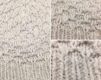 Alpaca Wool Knit Cap