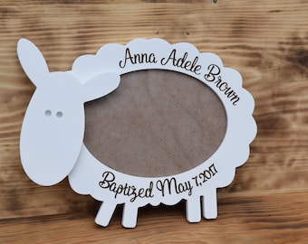 Baby Frame Newborn Gift personalized frame baby gift Baptism Frame baby picture frame wood photo frame personalized baby birthday present