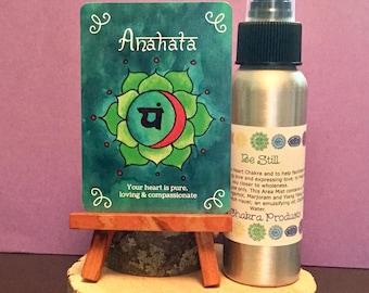 Be Still Mist / Mind Body and Spirit / Chakra Balance Spray / Heart Chakra/ Anahata Chakra Spray / 4th Chakra Oils / Energy Healing Spray