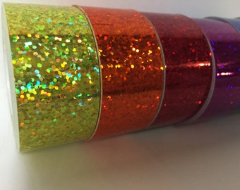 Glittering Holographic Sequins Tape, Free Shipping for USA