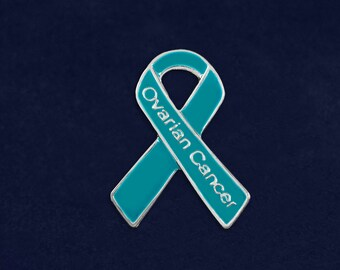 Ovarian Cancer Awareness Pin in a Bag (1 Pin - Retail) (RE-P-29-3OC)