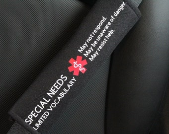 Autism Awareness Seat Belt Cover Autism Safety Seat Belt
