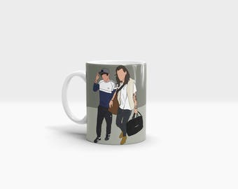 Back Home With You 11oz Ceramic Mug One Direction Harry Styles Louis Tomlinson Larry Stylinson Music Home Kitchen Crockery Cup