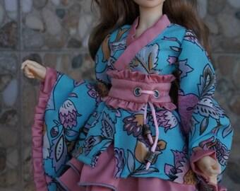 Waloli style set for BJD Fairyland minifee dolls