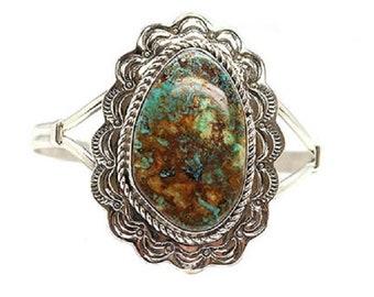 Turquoise Concho Bracelet