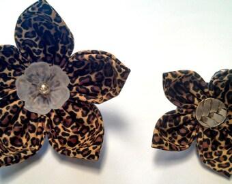 Leopard - Bow Tie or Flower