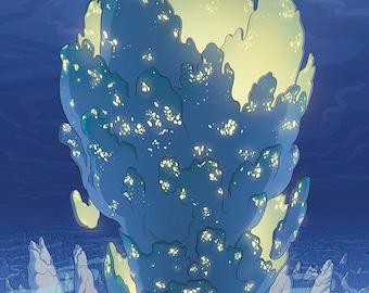 Tower of Atlantis Print