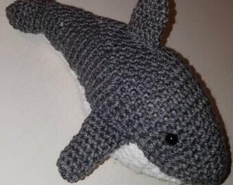 Handmade shark toy stuffed animal
