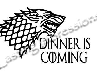 Instant Pot Decal Dinner Is Coming Game Of Thrones Crockpot