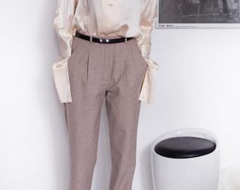 vintage Karl Lagerfeld silk blouse size L