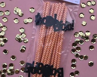 Halloween Straws- Set of 12