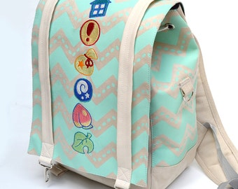 Crossing pastel items - backpack