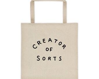 Creator Of Sorts Tote bag