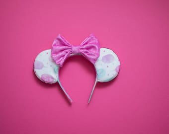 Cotton Candy Ears, Mouse Ears, Spring Mouse Ears, Summer Mouse Ears, Carnival Mouse Ears