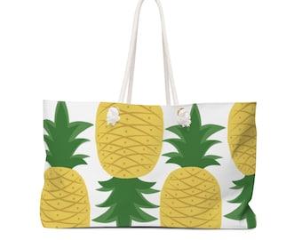 Plenty Of Pineapples Weekender Bag