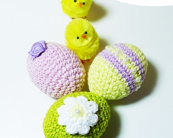Crochet Easter, crochet Easter egg, pattern crochet easter egg, crochet eBook PDF