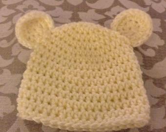 Infant's Bear Hat