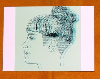 Grimes Single A5 Print
