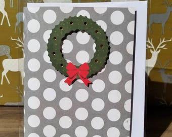 Handmade Christmas Card - Blank Inside