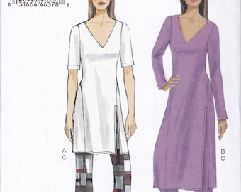 FREE US SHIP Vogue 9159 Tunic Blouse Wide Leg pants Size 4 6 8 10 12 14 Bust 29.5 30.5 31 32.5 34 36  Sewing Pattern New Loungewear