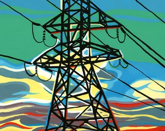 Etobicoke Power Print
