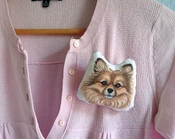 Benutzerdefinierte Haustier Brosche, personalisierte Geschenke für Tierliebhaber, katzenbrosche, Hund Brosche, Haustier-Brosche, Weihnachtsgeschenk