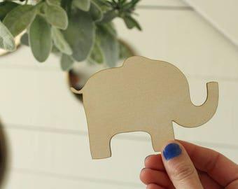 Elephant Cutouts Wood Elephant Cutout