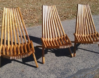 Patio Chair, Outdoor Furniture, Adirondack Chair, Accent Chair, Kentucky  Stick Chair,