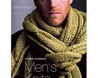 Rowan Men's Knits by Erika Knight Book By Marie Wallin Save Now!!   Regular price is 21.95