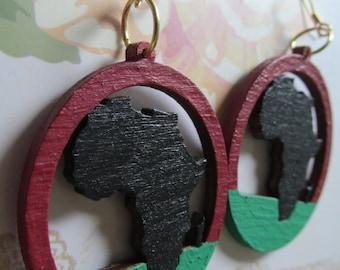 Africa Earrings (Small)
