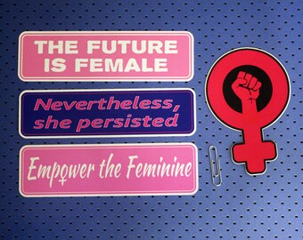 Feminist 4 Sticker Set