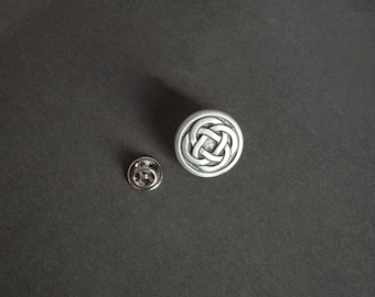 Celtic Knot Tie Tack Celtic Knot Lapel Pin Celtic Knot Gifts Irish Lapel Pin Gifts for Him Men's Gifts Fathers Day Gifts Groomsmen Gifts