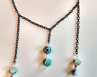 Evil Eyes Necklace