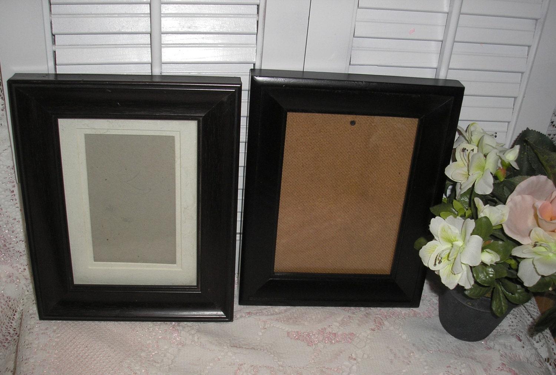 Two wood fetco sierra black 5x7 picture frames from sold by jeaniesrosepatch6 jeuxipadfo Gallery