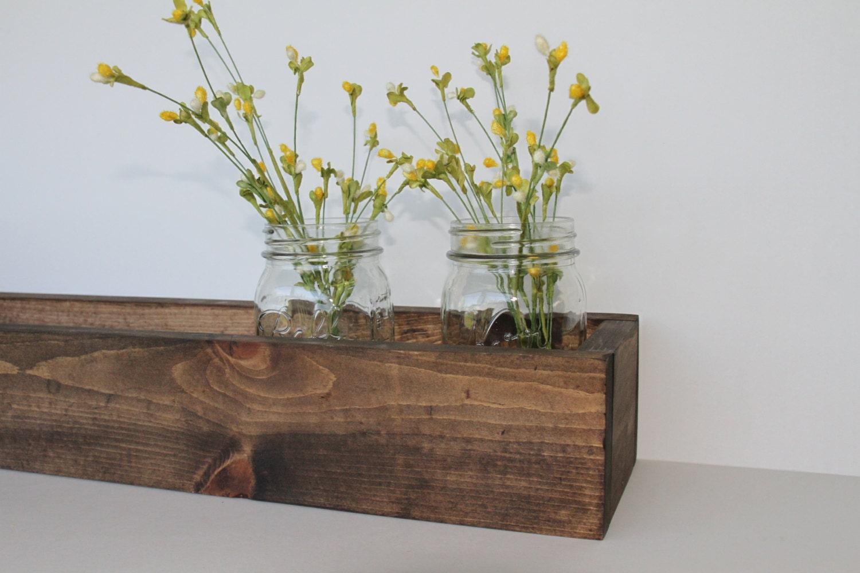 36 Wood Flower Box Wood Box Rustic Planter Box