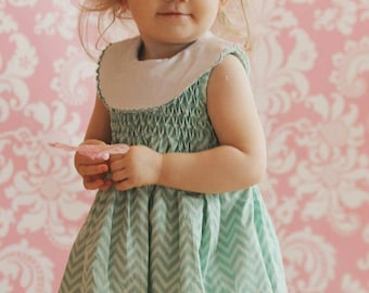 Nantucket Baby - Ellie Inspired Baby dress bloomers PDF pattern - Sizes Newborn - 36 months