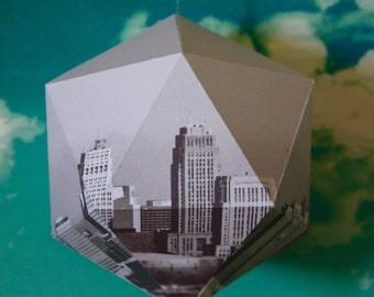 CITY#01 - Paper ball - Black and white New York Photo