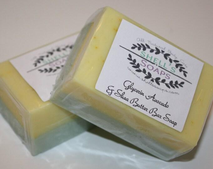 Avocado & Shea Glycerin Soap