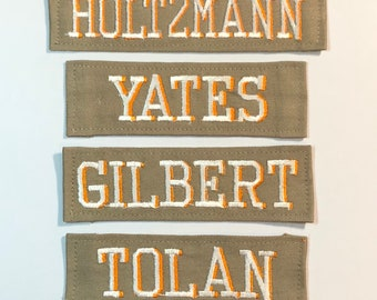 Ghostbusters 2016 Name Patches - Set of Four Holtzmann Gilbert Yates Tolan