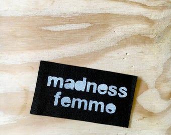 Madness Femme patch